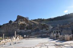 Turkiet Izmir, Bergama i Hellenistic olik A trevlig inledning för gammalgrekiska, denna är en verklig civilisation, badar Royaltyfria Bilder