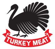 Turkiet kött Arkivbild