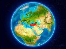 Turkiet på jord Royaltyfria Foton