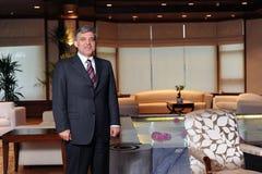 Turkiet president Abdullah Gul Royaltyfria Bilder