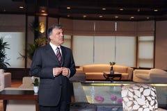 Turkiet president Abdullah Gul Royaltyfri Bild