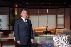 Turkiet president Abdullah Gul Arkivfoto