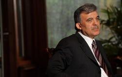 Turkiet president Abdullah Gul Royaltyfri Foto