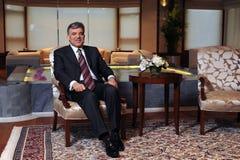 Turkiet president Abdullah Gul Arkivbild