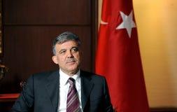 Turkiet president Abdullah Gul Royaltyfria Foton