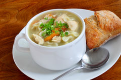 Turkiet soup royaltyfri foto