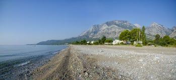 Turkiet Sunny Beach Beldibi Kemer landskap arkivbild