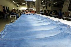 Turkiet textilsektor Royaltyfria Bilder