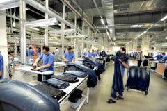 Turkiet textilsektor Royaltyfri Fotografi