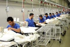 Turkiet textilsektor Arkivfoto