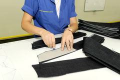 Turkiet textilsektor Royaltyfri Bild