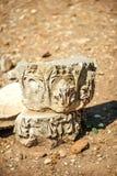 Turkije, Ephesus, ruïnes van de oude roman stad Stock Afbeelding
