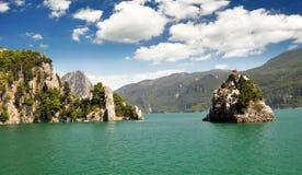 Turkije. groene canion Stock Foto