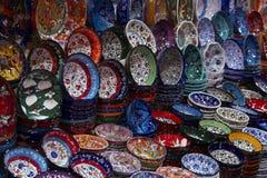 Turkije, Istanboel, Grote Bazaar Stock Foto