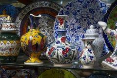 Turkije, Istanboel, Grote Bazaar Royalty-vrije Stock Fotografie