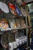 Turkije, Istanboel, Grote Bazaar Stock Afbeelding