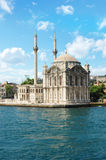 Turkije, Istanboel, Moskee ORTAKOY Royalty-vrije Stock Afbeeldingen