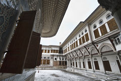 Turkije, Istanboel, Paleis Topkapi Stock Afbeelding
