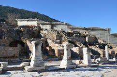 Turkije, Izmir, Bergama het oude Grieks Royalty-vrije Stock Afbeelding