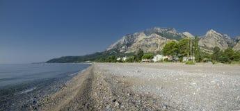Turkije, Sunny Beach Beldibi, Kemer-provincie Royalty-vrije Stock Foto