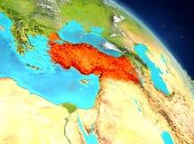 Turkije van baan stock illustratie