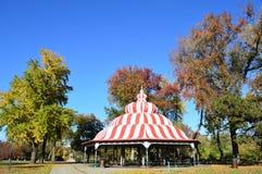 Turkis pawilon przy Basztowym gaju parkiem Fotografia Royalty Free