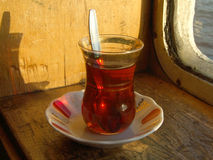 turkis tea Stock Image