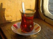 turkis thee Stock Afbeelding