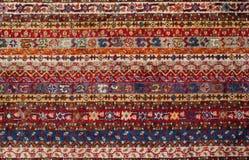Turkisch dywanu tekstura Zdjęcie Stock