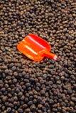 Turkish вводят подготовленные оливки в моду в рынке Стоковые Фото