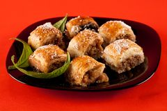 turkish десерта бахлавы традиционный Стоковые Изображения
