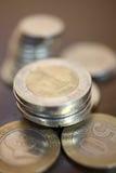 turkish комплекта лиры новый Стоковая Фотография RF