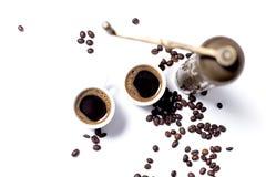 turkish комплекта кофе Стоковое Фото