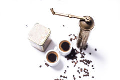 turkish комплекта кофе Стоковое фото RF