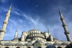 Turkish мечети Ahmed султана стоковые фотографии rf