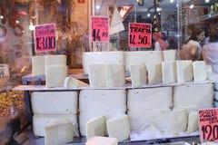 turkish рынка сыра Стоковая Фотография
