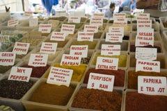 turkish рынка Стоковое Изображение