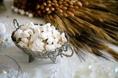 turkish сезама rahat lakoum конфеты близкий вверх Стоковое Фото