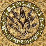 turkish тюльпана тахты конструкции традиционный Стоковые Фото
