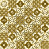 Turkish шикарной безшовной картины белый, марокканец, португальские плитки, Azulejo, орнамент Стоковые Фото