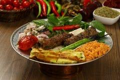 Turkish Adana Kebab Stock Photo