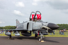 Turkish Air Force F-4 Phantom II Royalty Free Stock Photo