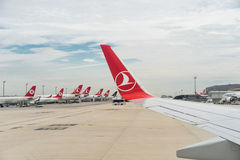 Turkish airline Stock Images