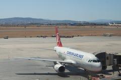 Turkish Airlines royalty-vrije stock afbeelding