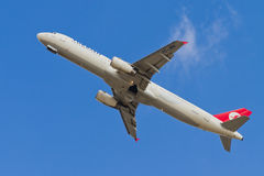 Turkish Airlines Airbus A321 Royalty Free Stock Photo