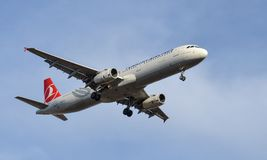 Turkish Airlines Royalty Free Stock Photos