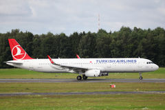 Turkish Airlines Airbus A321 Stock Photos