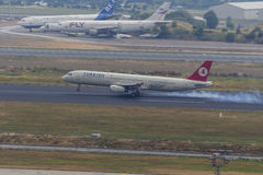 Turkish Airlines Airbus A-321  Stock Images