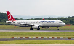 Turkish Airlines Airbus A320 Royalty Free Stock Photo