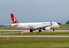 Turkish Airlines Airbus A320 Stock Photo
